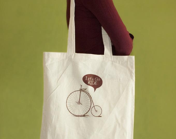 Velo Tote Bag, Long Handles