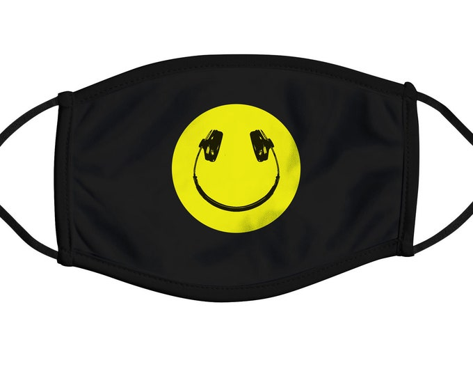 Music Smile Face Mask