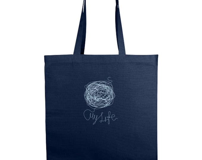 My Life Shopping/Tote Bag