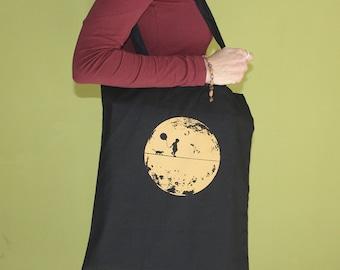 Moonchild Tote Bag, Long Handles