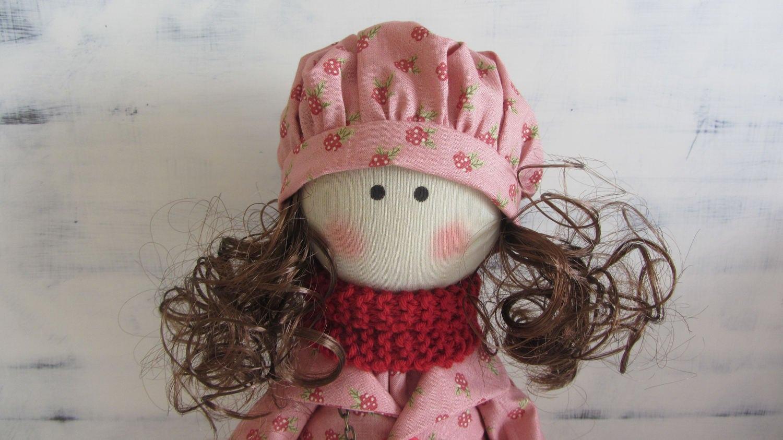 Limitado Nuevo Muñeca de tela muñeca hecha a mano muñeca de trapo muñeca AIDkar