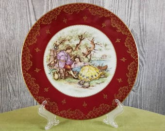 Limoges Wall Board Fragonard