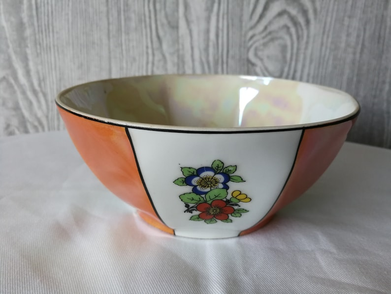 made in Cechoslovakia Antique bowl