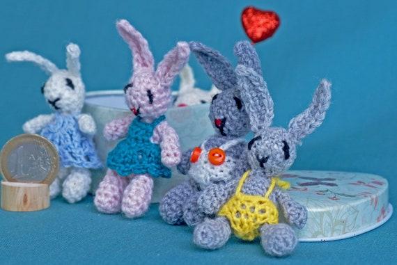CROCHET PATTERN: Crochet Dollhouse, Amigurumi Doll, Miniature Doll ... | 381x570