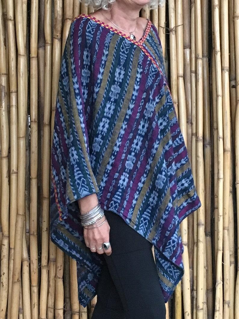 Boho Poncho Festival Cape Wrap Warm Cover Up Women\u2019s Unisex For Her