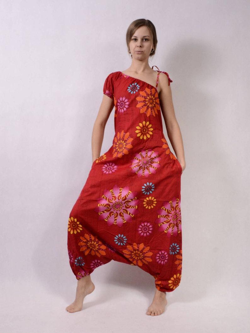 6ccd549390a Harem pants jumpsuit Overalls Women loose jumpsuit