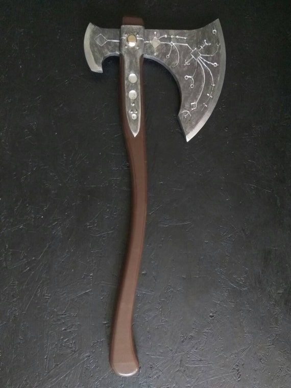 Kratos Axe God Of War 4 Gow Life Size 1 1 Inspirited Cosplay Prop Con Safe