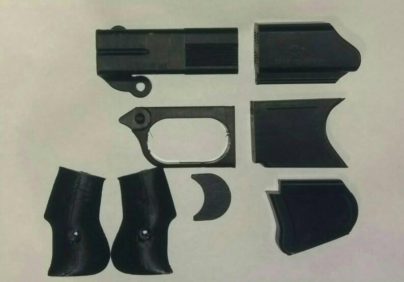 Blade runner 2019 replicant Leon Derringer cop 357 pistol gun cosplay  display prop consafe
