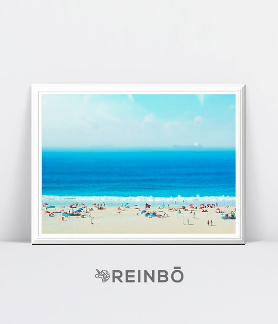 Printable Digital Download Coastal Decor Wall Art Print Beach Photography Large Poster Digital Beach Wall Art Print Ocean Water Photo