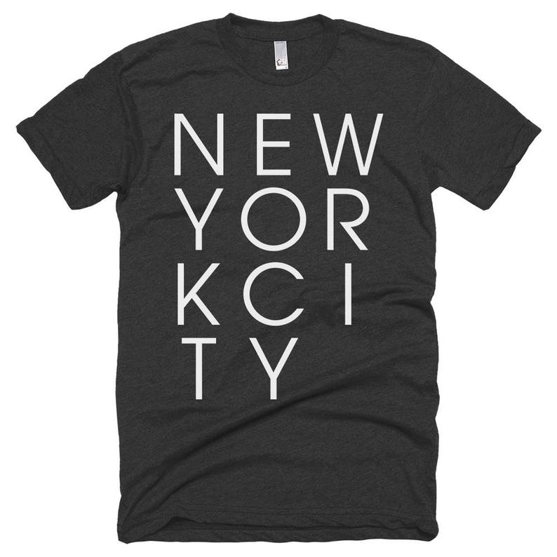 New York City Letters T-shirt  NYC  Free Shipping image 0