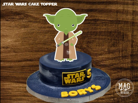 Instant Download Star Wars Cake Topper 0293 Star Wars Table Centerpiece Star Wars Birthday Party DIY 8 Printable Star Wars Centerpiece