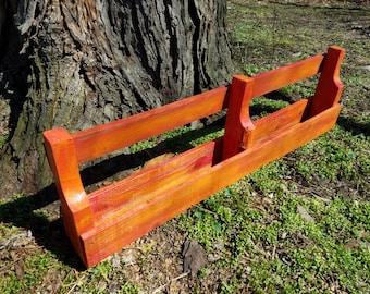 Pallet Shelf / Red-Orange