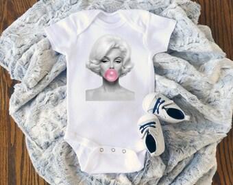 83c3f770ffa42 Marilyn Monroe Bubblegum Onesie