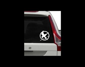 Hunger Games Mockingjay Logo Decal