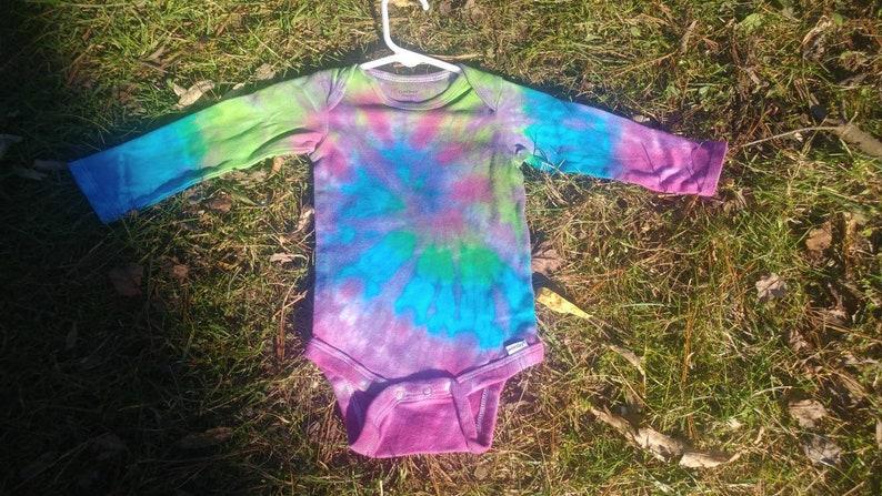Tie dyed Onesie LS 12m