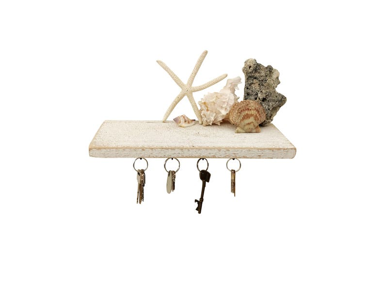with hooks wood shelf shelves shelving Shabby Chic Entryway Shelf entryway hook wall white floating organizer hanging