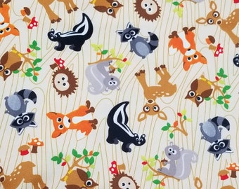 PUL 1 Yard - Waterproof Fabric - Forest Babyville PUL - Cloth Diaper Sewing - Cloth Diaper -  Wetbags - Bibs - Sanitary Napkins - Snack Bags