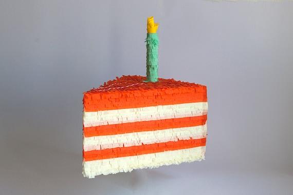 Superb Birthday Cake Pinata Etsy Funny Birthday Cards Online Elaedamsfinfo