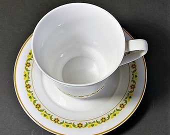 Free Shipping for Spode Teacup and Saucer Petite Fleur Pattern No Chips or Cracks Tea Time