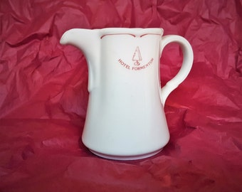Pitcher from Grace Kelly Honeymoon Destination The Hotel Formentor Mallorca Spain Made in Bavaria Porcelain