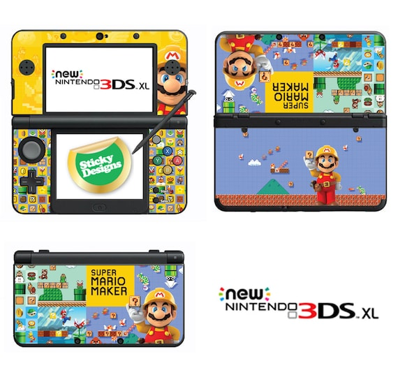 Super Mario Maker Vinyl Haut Aufkleber Für Nintendo Ds Litedsidsi Xl 3ds3ds Xlnew 3ds C Sticknew 3ds Xl C Stick 2ds