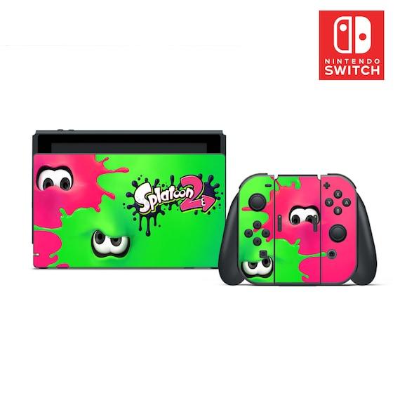 Splatoon 2 Vinyl Skin Sticker Set For Nintendo Switch