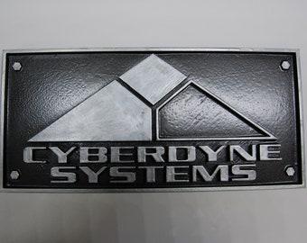 Terminator Cyberdyne Systems Wall Plaque