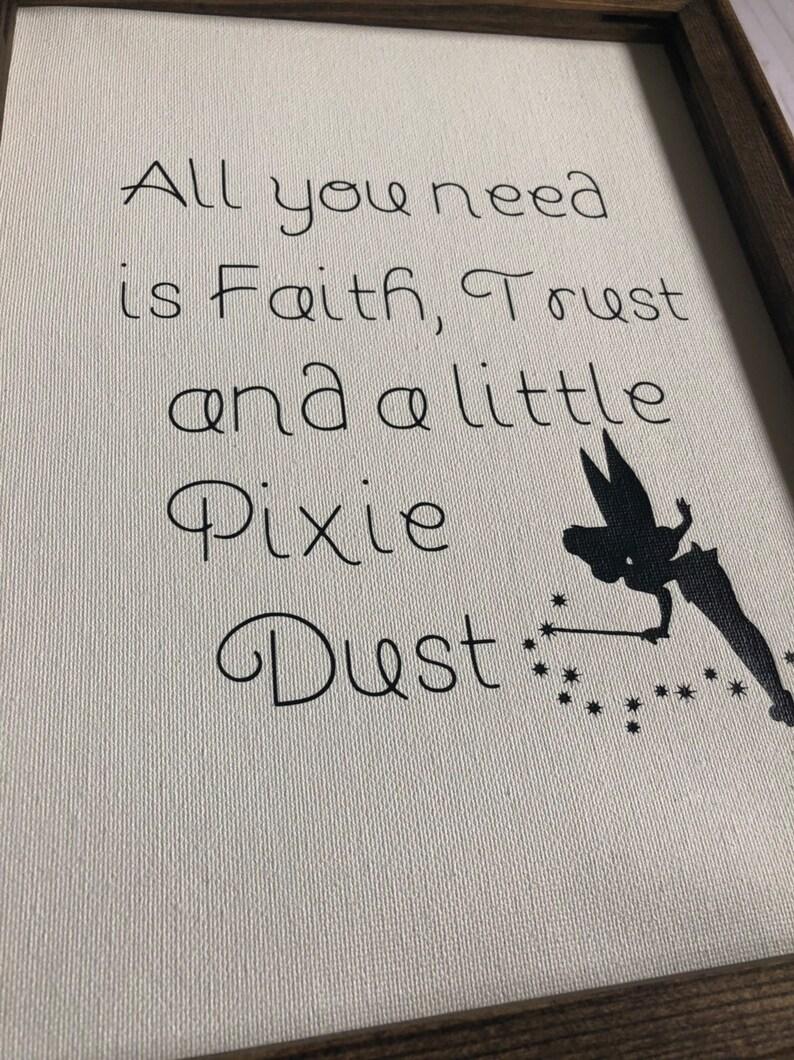 Pixie Dust Farmhouse Canvas Sign
