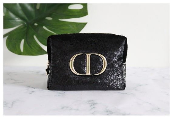 Authentic Black Christian Dior bag/ makeup bag