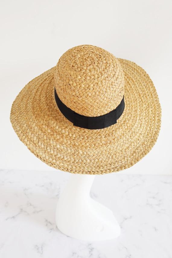 Vintage straw Hat - image 3