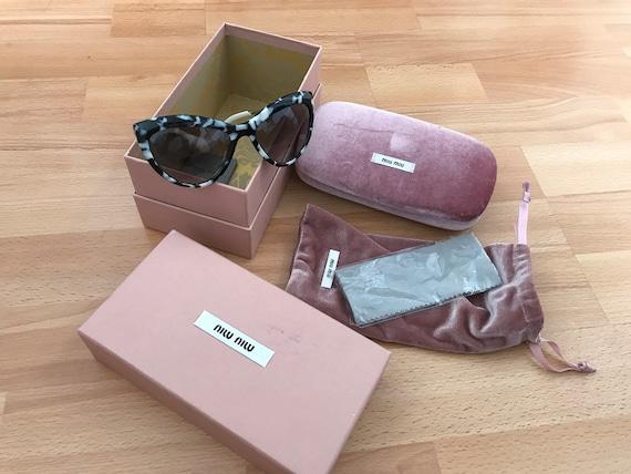 Authentic Miu Miu Cat Eye Sun glasses