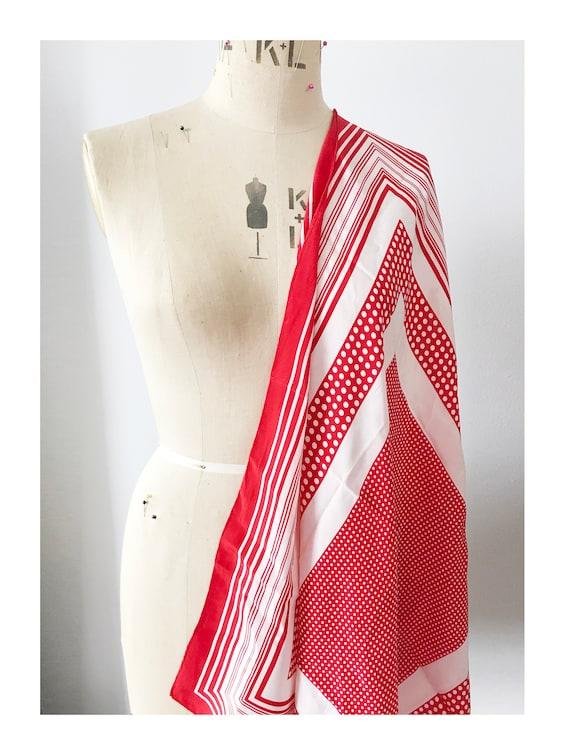Vintage Richel Paris Silk scarf