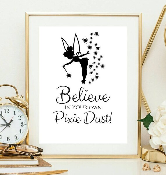 Pixie Dust Tinkerbell Tinker Bell Peterpan Peterpan Quote Etsy