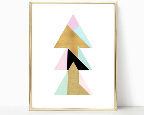 Miraculous Geometric Prints Modern Print Wall Art Prints Teen Room Decor Gold Print Abstract Art T For Her Contemporary Art Office Decor Download Free Architecture Designs Ogrambritishbridgeorg