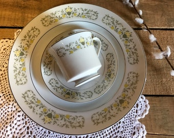 Vintage saucer h/&c sauer sell replacement plate decor wedding serving china craft repurpose