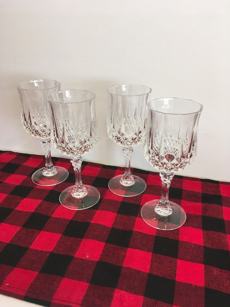 b08763db54d Cristal Darques wine glass glasses crystal glasses wine | Etsy