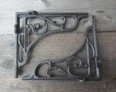 Cast Iron Classic Victorian Scroll Shelf Brackets Vintage Style, Antique Style