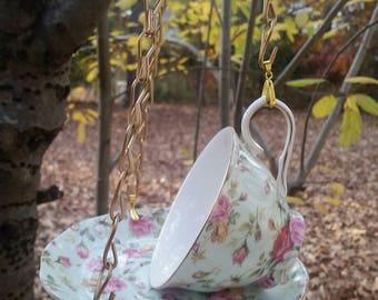 Teacup Birdfeeder, Tea Cup Bird Feeder