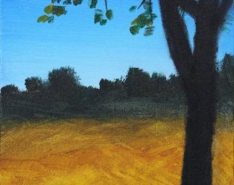 Summer Tree art print 11x14