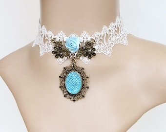 Gothic necklace - vintage