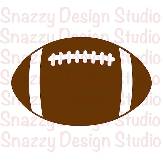 Football Svg Football Png Football Silhouette Football Cut Etsy