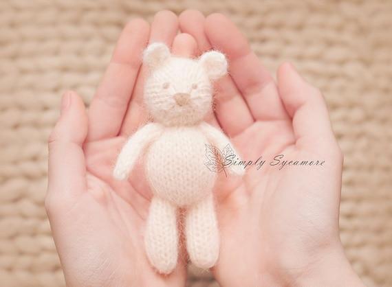Knitting Pattern Bear Tiny Knit Tiny Teddy Bear Instant Etsy