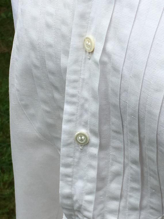 Wonderful French Antique Cotton Gentleman's Dress… - image 5