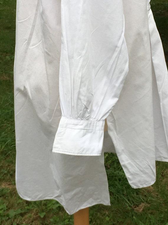 Wonderful French Antique Cotton Gentleman's Dress… - image 3