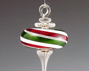 Classic Series Ornament - Red/Green/White