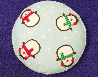 Catnip Pillow Holiday Snowman Christmas (2.5 and 3 in)