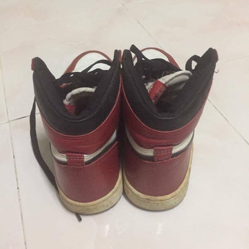 135024f22ebc85 True vtg 80s nike air jordan shoes