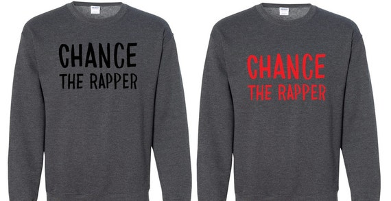 Chance The Rapper Inspired Sweater Chance Sweater No Etsy
