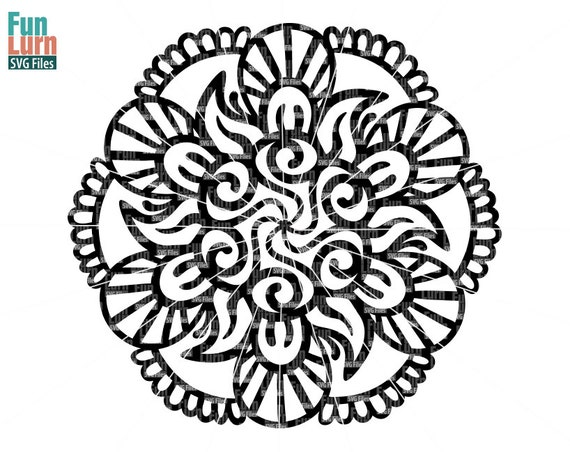 Simple Mandala 3 Mandala Pattern Zen Doodle