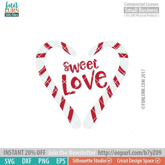 Sweet Love Svg Love Svg Valentine S Day Svg Candy Cane Etsy